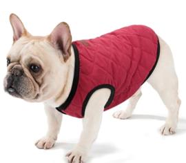 PETBABY honden bodywarmer rood|  XS, S, M, L, XL