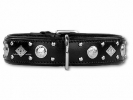 DOXTASY leren halsband Royal Though 40mm