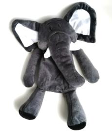pluche hondenspeelgoed met geluid | olifant 38cm