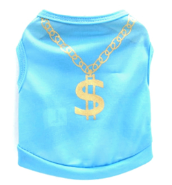 "hondenshirtje ""Dollar baby"" | XS, S, L"