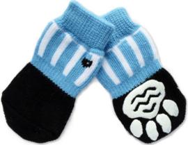 Hondensokjes blauw | S