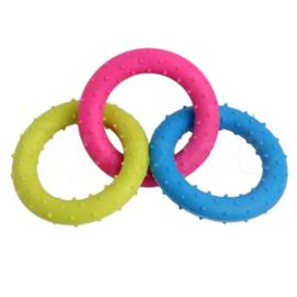gekoppelde multi denta ring rubber | 18cm