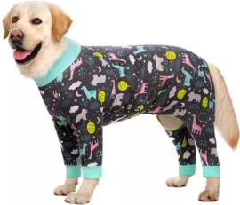 Honden Pyjama voor grote hond / Onesie (Wordt verwacht in februari / maart)