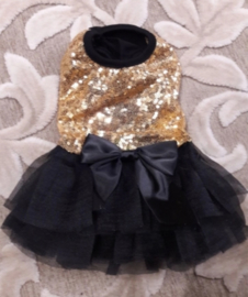 Party dress LONDON | Goud | S, M, L, XL