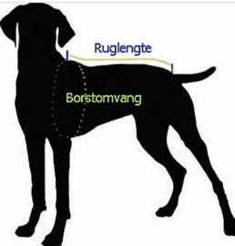 FASHION SPORTS 2-in 1 honden bodywarmer met harnas   groen   S, L, XXL