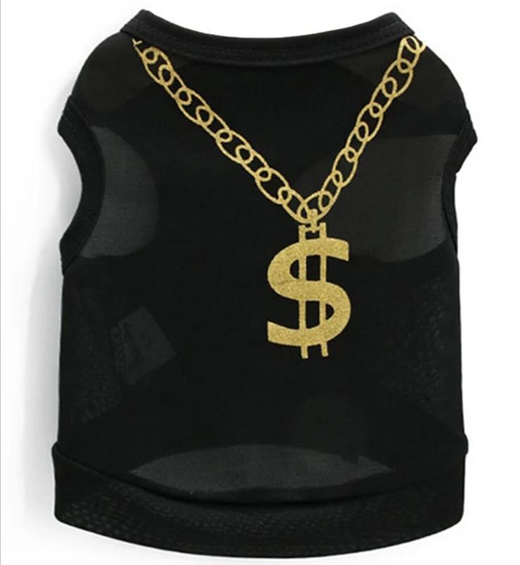 "hondenshirtje ""Dollar baby"" | XS, S, M, L"