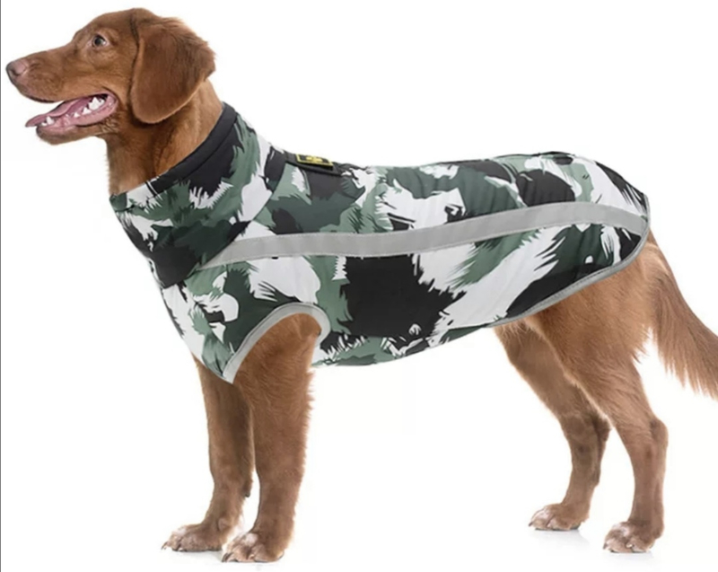 Winterjas / regenjas voor grote hond   3XL, 4XL, 6XL