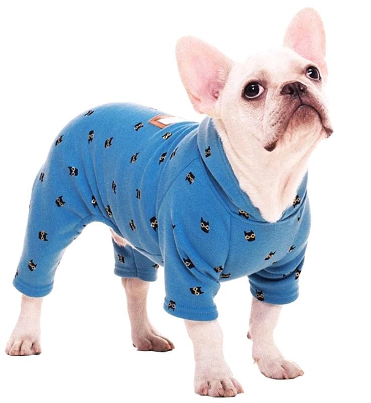 Honden Pyjama / onesie | Blauw | S, L