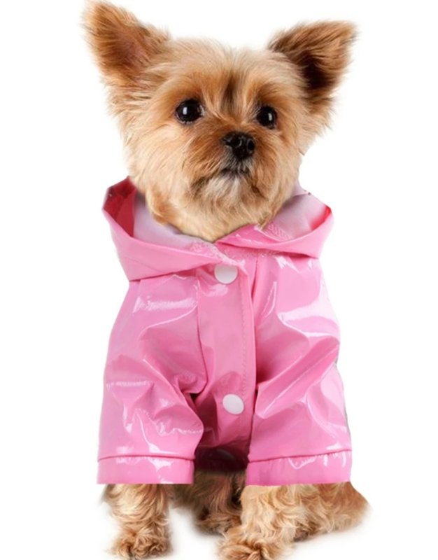 Regenjas hond roze | S, M,,XL