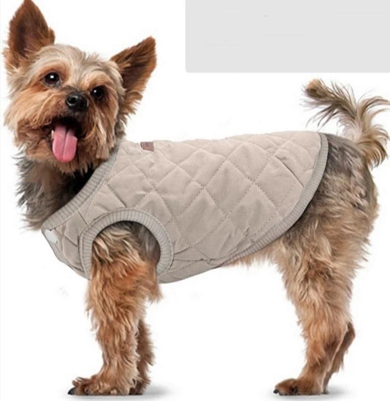 PETBABY honden bodywarmer beige   XS, S, M, L