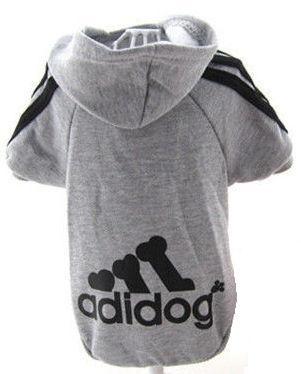 "Sweater ""Adidog"" | Grijs | S, M, XL"