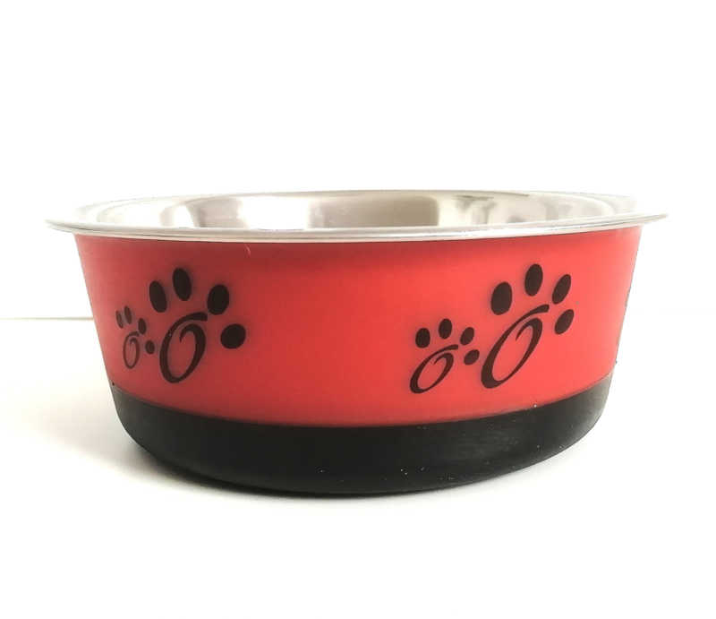 Hondenvoerbak Fusion | rood | 16cm