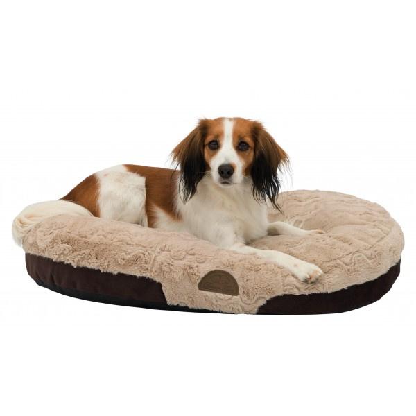 Hondenkussen Malu | Beige /  bruin | 60x40 cm