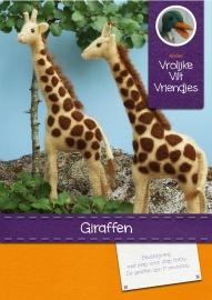 Patroonblad Giraffen