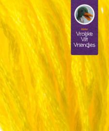 Sprookjes geel- wit randen splijtgaren