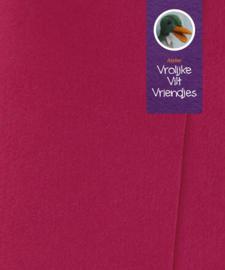 Fuchsia zacht wolvilt