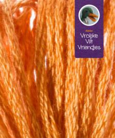 Bruin oranje splijtgaren