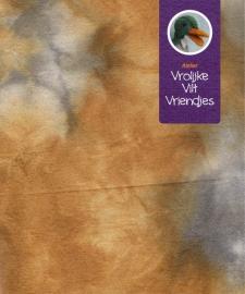 Sprookjesvilt oranjebruin- grijs (reiger)