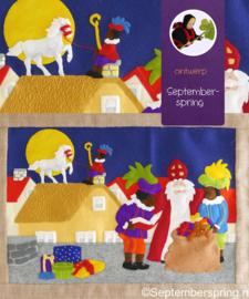Sinterklaas wandkleed