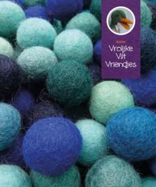 Wolballen blauwmix