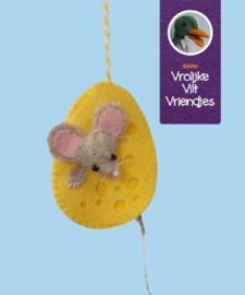 Kaaseieren met muis