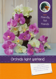 Orchids light garland
