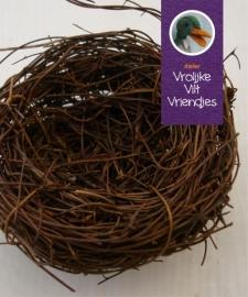 Nest meerkoet en vogels