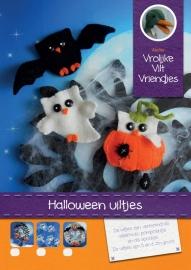 Patroonblad Halloween uiltjes