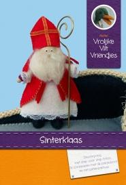 Sinterklaas kraal 12 cm