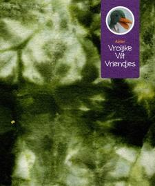 Sprookjes vetplant groen- wit