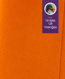 Oranje licht wolvilt