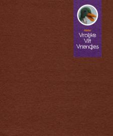 Bruin beige wolvilt