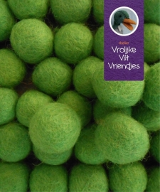 Wolbal groen