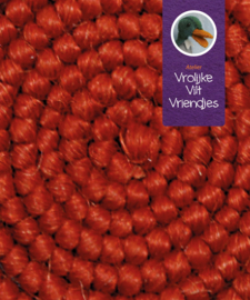 Wolcrepe  rood-bruin 171