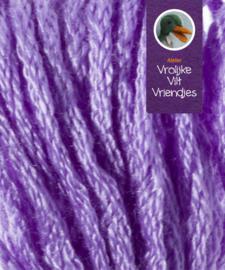 Sprookjes lila geel viooltjes splijtgaren