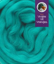Lontwol merino turquoise