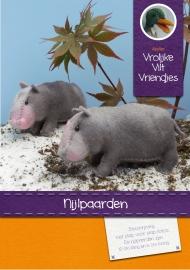 Patroonblad Nijlpaarden