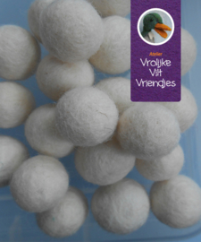 Wolbal wolwit 15mm