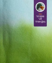 Sprookjesvilt  lichtblauw groen