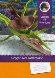Roggen met waterplant