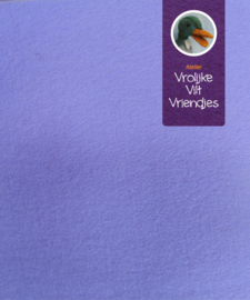 Blauw lila wolvilt