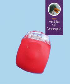 Ledlamp rood (grote pompoen)