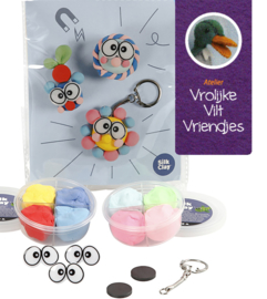 Creative kit met silk klei