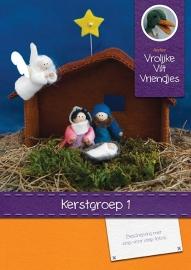 Patroonboekje: Kerstgroep 1
