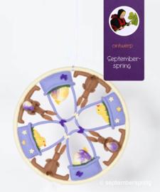 Materiaalpakket Paasmandela zonder patroon