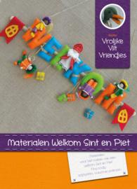 Materialen  Welkom Sint en Piet