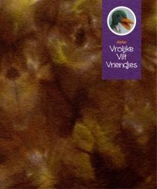 Sprookjes bruin- mosgroen (boomstam)