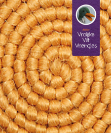 Wolcrepe  geel
