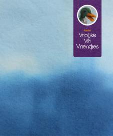 Sprookjesvilt  blauw - lichtblauw