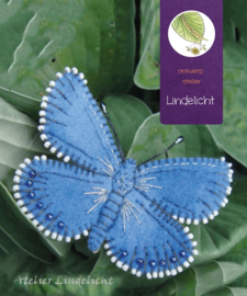 Vlinder Heideblauwtje